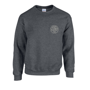 Dark Heather Chest Logo Sweatshirts