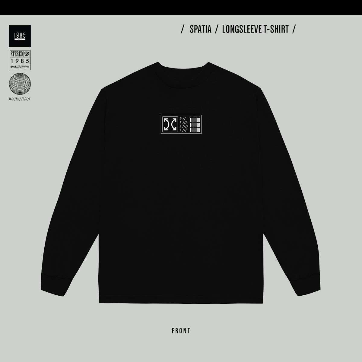 Spatia Longsleeve T-shirt - Black