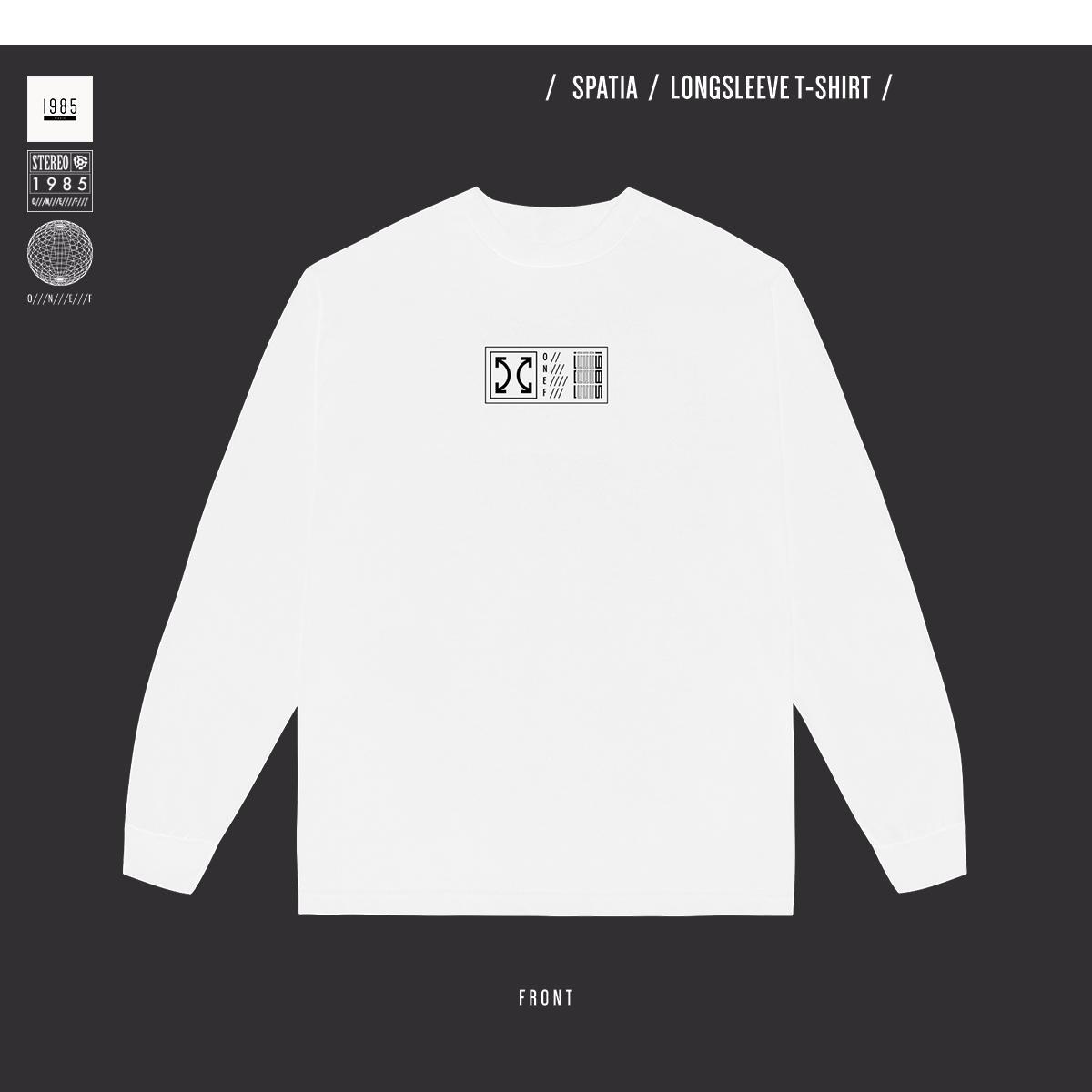 Spatia - Longsleeve T-shirt - White