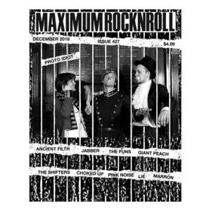 MAXIMUM ROCKNROLL #426 & back issues