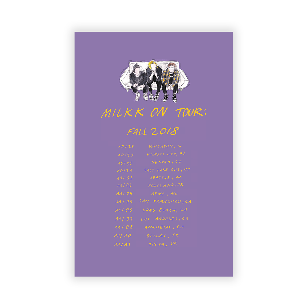 Fall Tour 2018 Poster