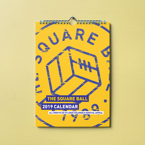 The Square Ball 2019 Calendar