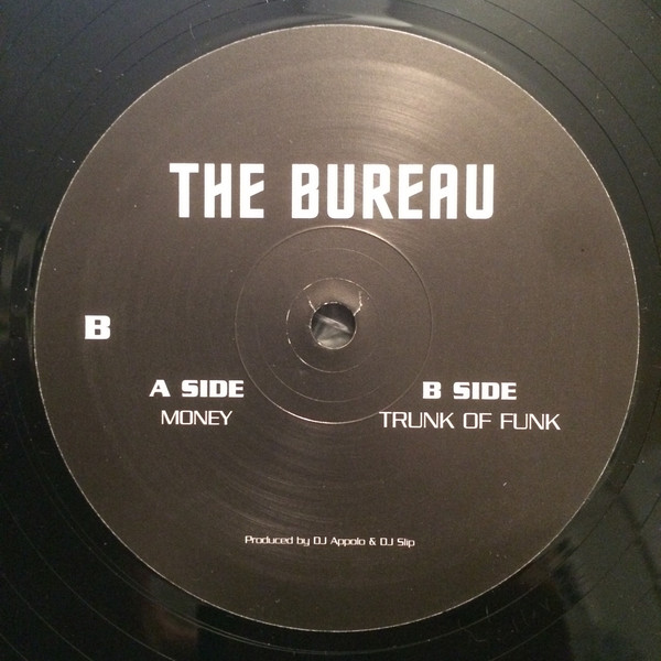 The Bureau ‎– Money / Trunk Of Funk (Sockett)