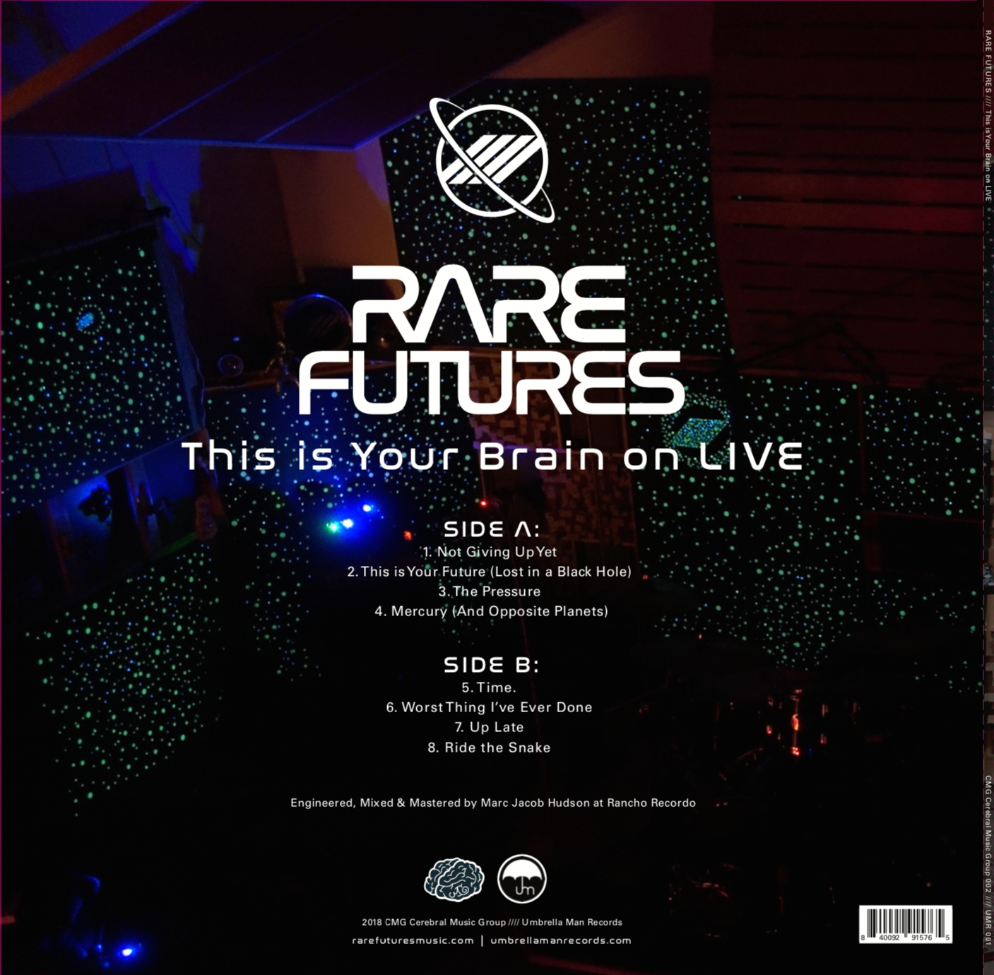 Rare Futures - This Is Your Brain On LIVE