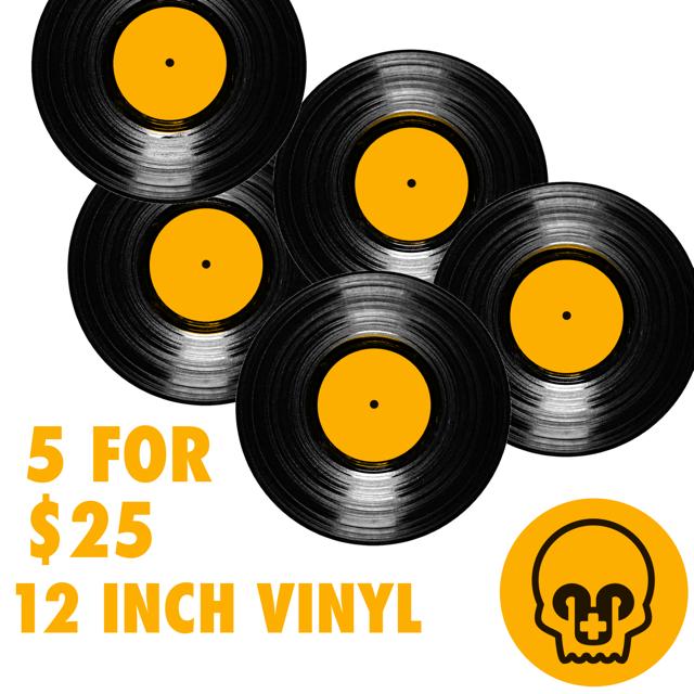 5 Random LP's for $25