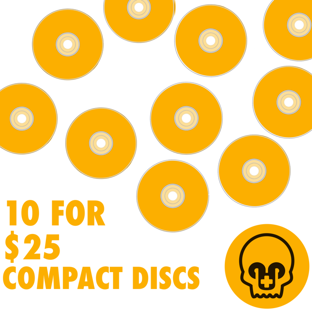 10 CD's For $25