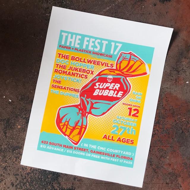 Fest Showcase Poster