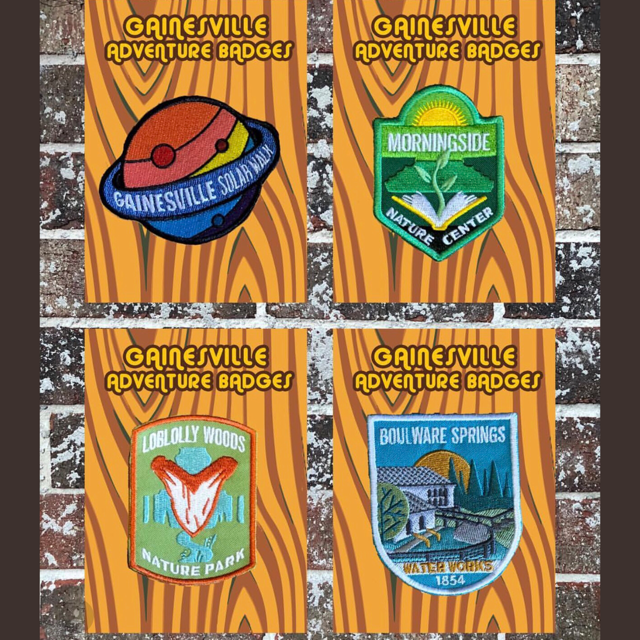 Gainesville Adventure Badges - Series 2