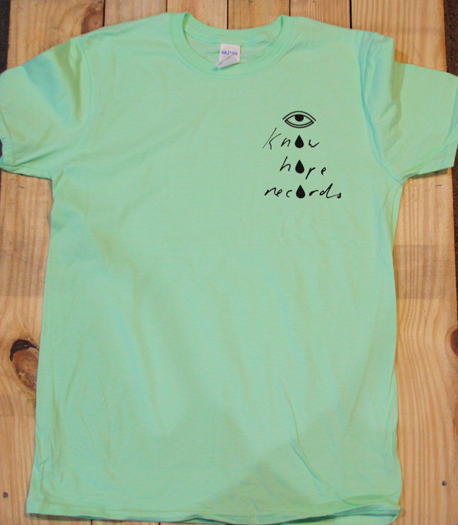 Know Hope Records Logo Shirt (Mint Green)