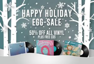 Happy Holiday Egg-Sale