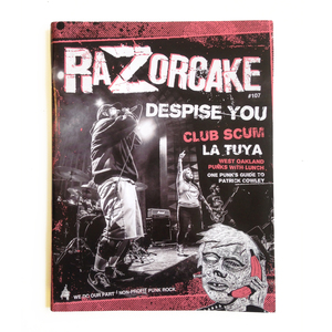 Razorcake #107, Subscriptions & Back Issues