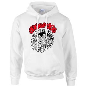 Underdog 'Chains' White Pullover Hoodie