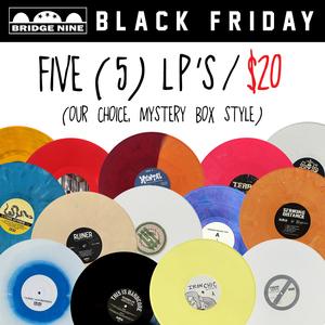 LP Mystery Bundle (5 LP's for $20)