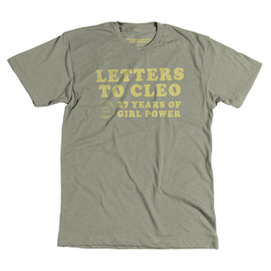 2018 Tour 2-Sided Olive Green T-Shirt