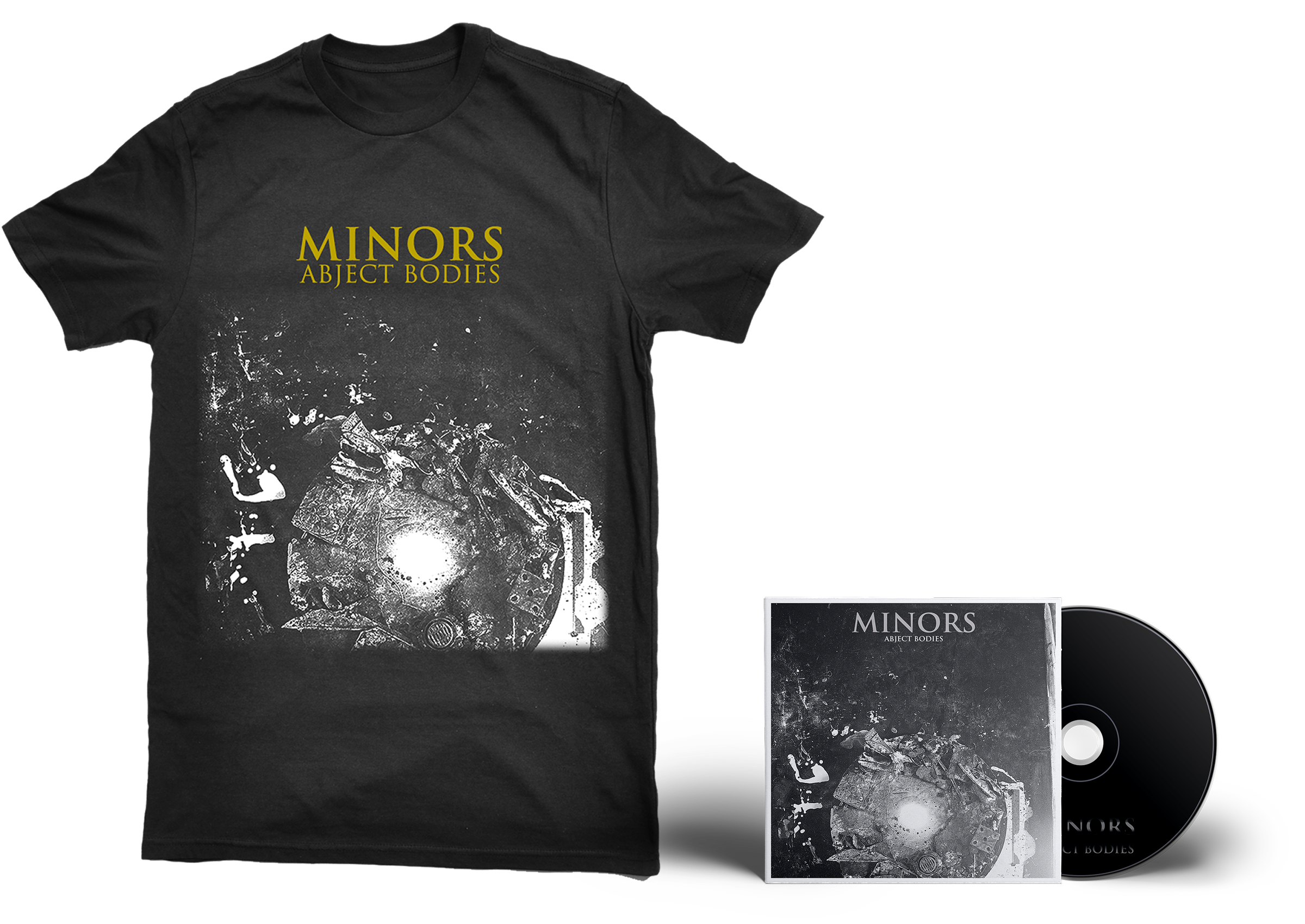 Minors - Abject Bodies shirt + CD PREORDER