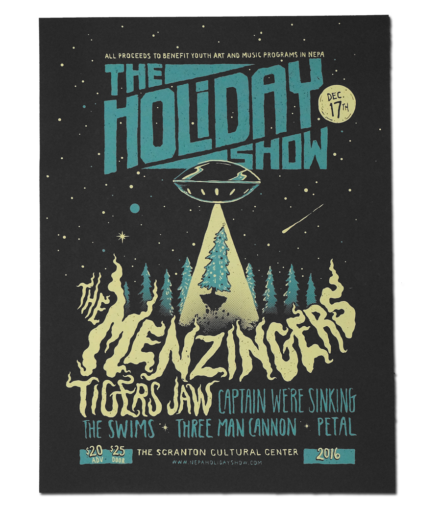 2016 Holiday Show Poster