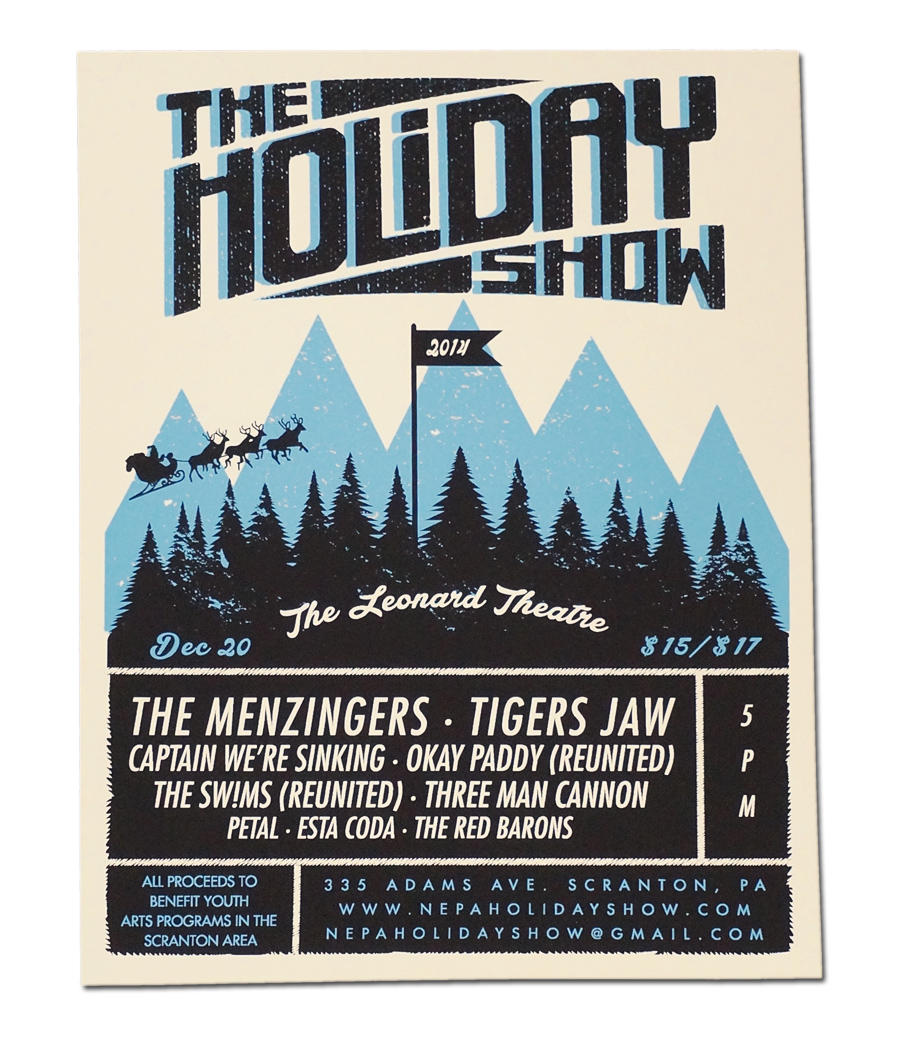 2014 Holiday Show Poster