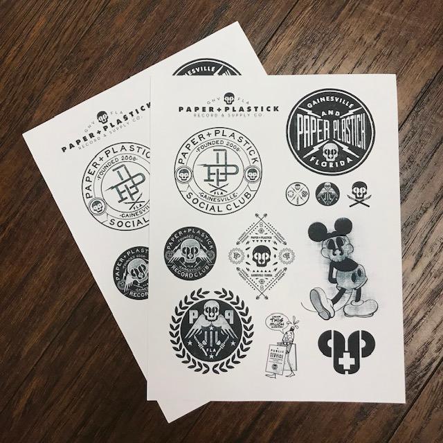 Paper Stickers Bundle