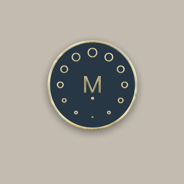 Circles Logo Enamel Pin