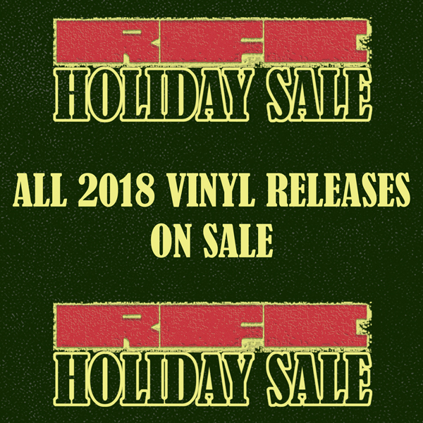 RFC Holiday Sale 2018 - All 2018 Vinyl Releases