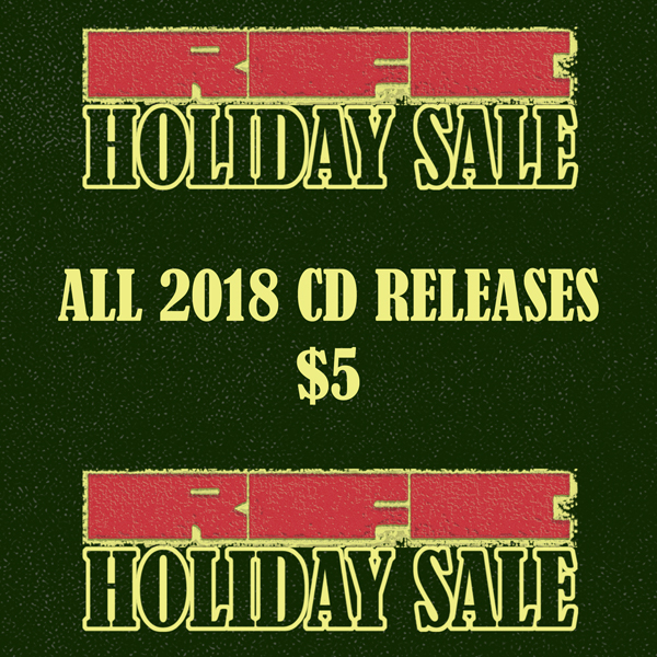 RFC Holiday Sale 2018 - All 2018 CD Releases $5
