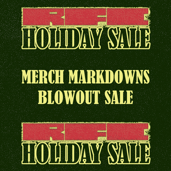 RFC Holiday Sale 2018 - Merch Markdown Sale