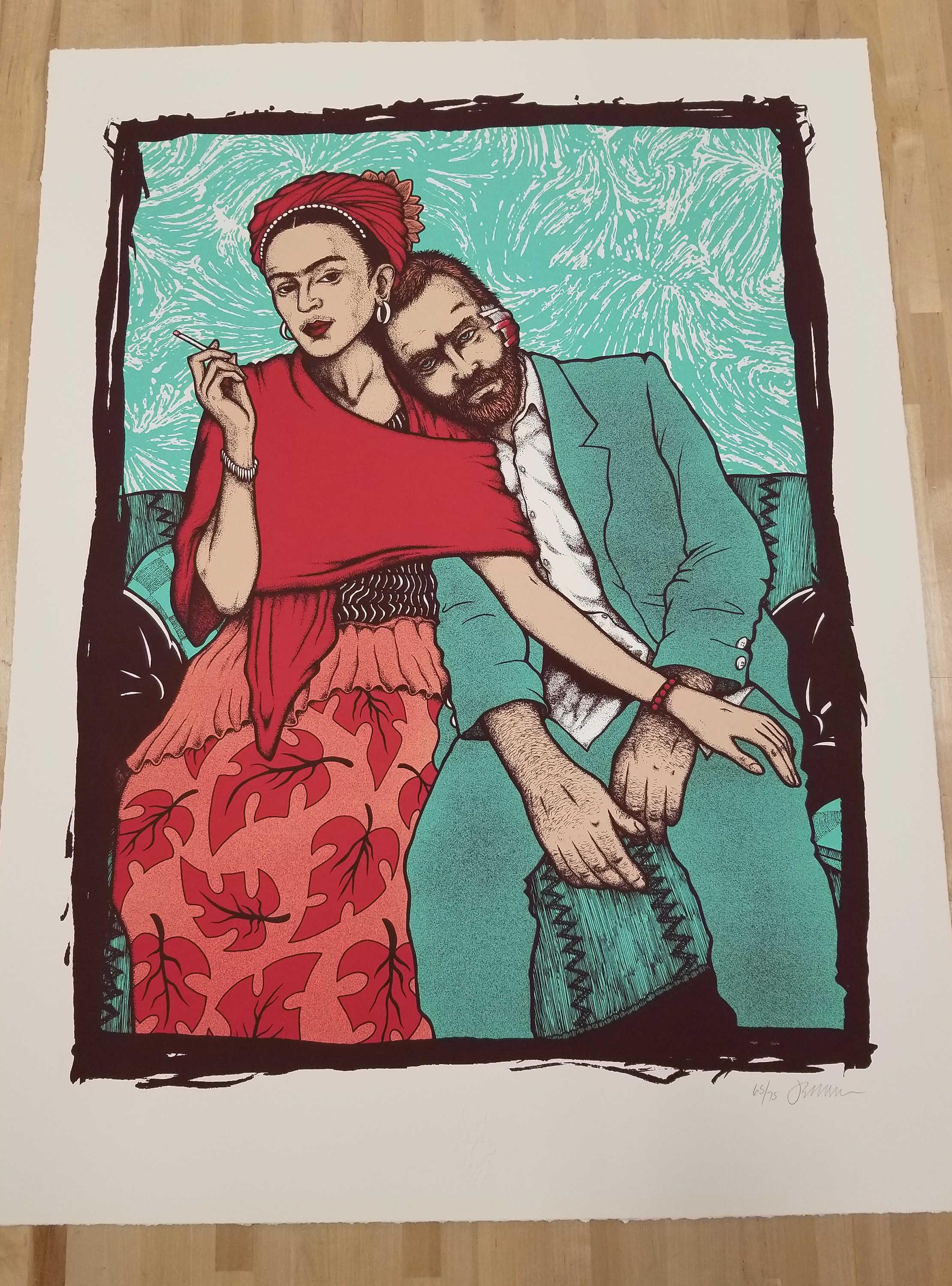 NEW - 'Frida & Vincent' (Green Gallery Edition & Opal Edition)