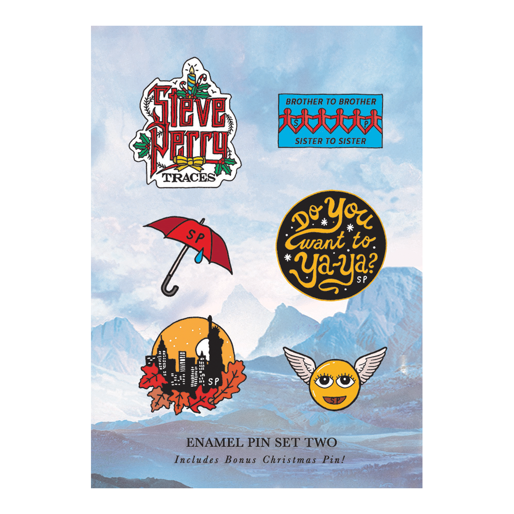 Six Enamel Pin Set (Part 2) + Backing Card