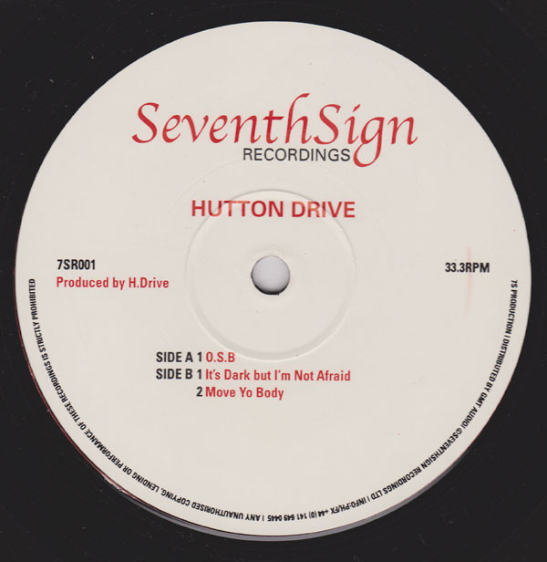 Hutton Drive ‎– O.S.B. (Seventh Sign Recordings)