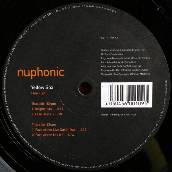 Yellow Sox – Flim Flam (Nuphonic)