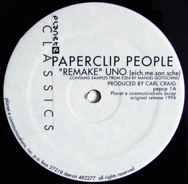 Paperclip People – Remake (Planet E)