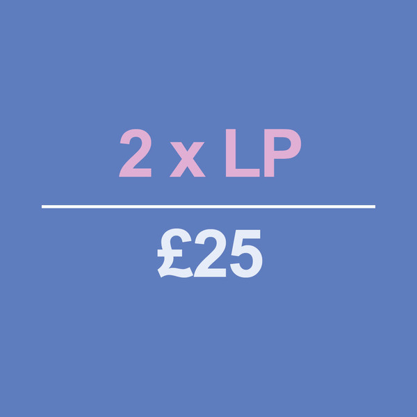 2 LPs for £25