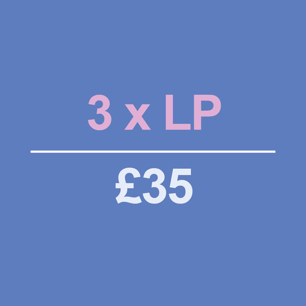 3 LPs for £35