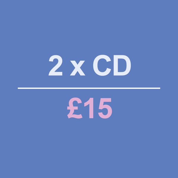 2 CDs for £15