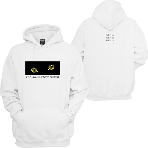 Wicca Phase Springs Eternal - Cat Eye Hoodie Sweatshirt