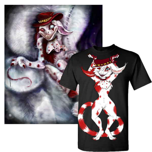 Lucy Tee + Poster