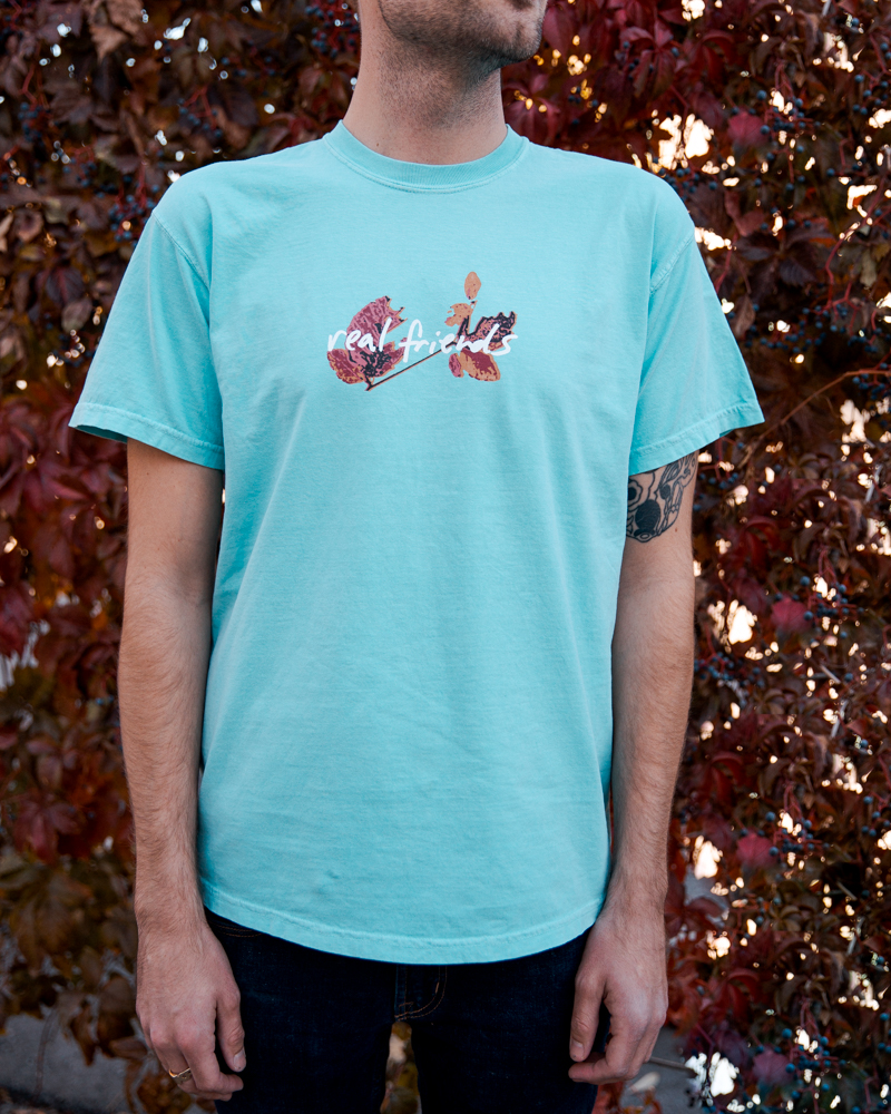 Real Friends Official Online Merch Store Logo And Leaves T Shirt