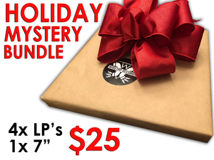Wiretap Holiday Mystery Bundle (4x LP's, 1x 7