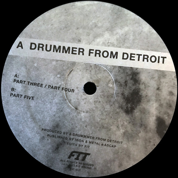 A Drummer From Detroit ‎– Drums #2 (Fit Sound)