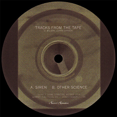 D. Wilson, Leron Carson ‎– Tracks From The Tape (Sound Signature)