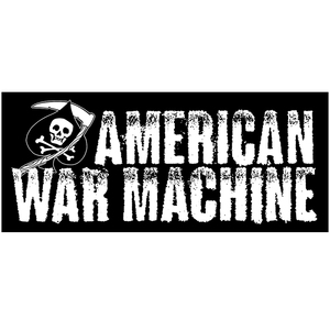 American War Machine 'Logo' Sticker