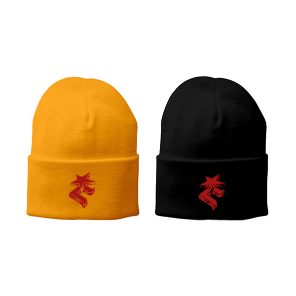Black & Yellow Beanies