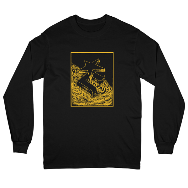 Black & Gold Longsleeve