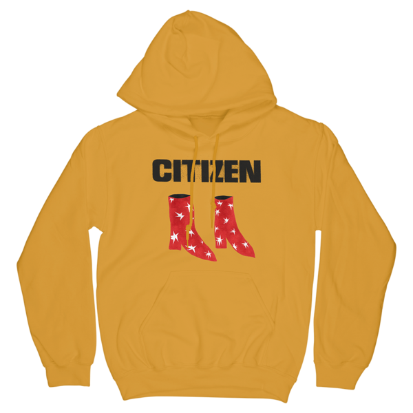 Gold Boots Hoodie