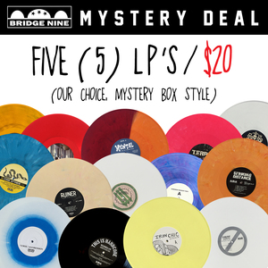 LP Mystery Bundle (5 LP's for $20)