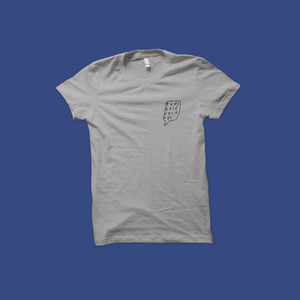 Topshelf Records - Logo Tee (Light Gray)