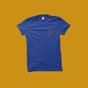 Topshelf Records - Logo Tee (Royal Blue)