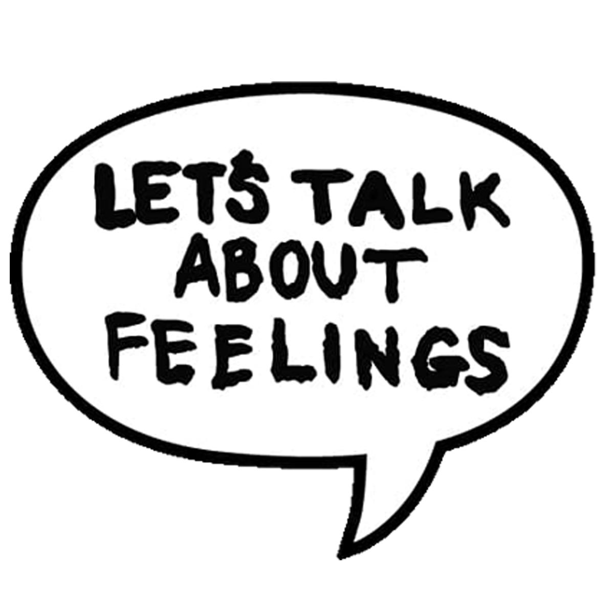 Let's Talk About Feelings Enamel Pin