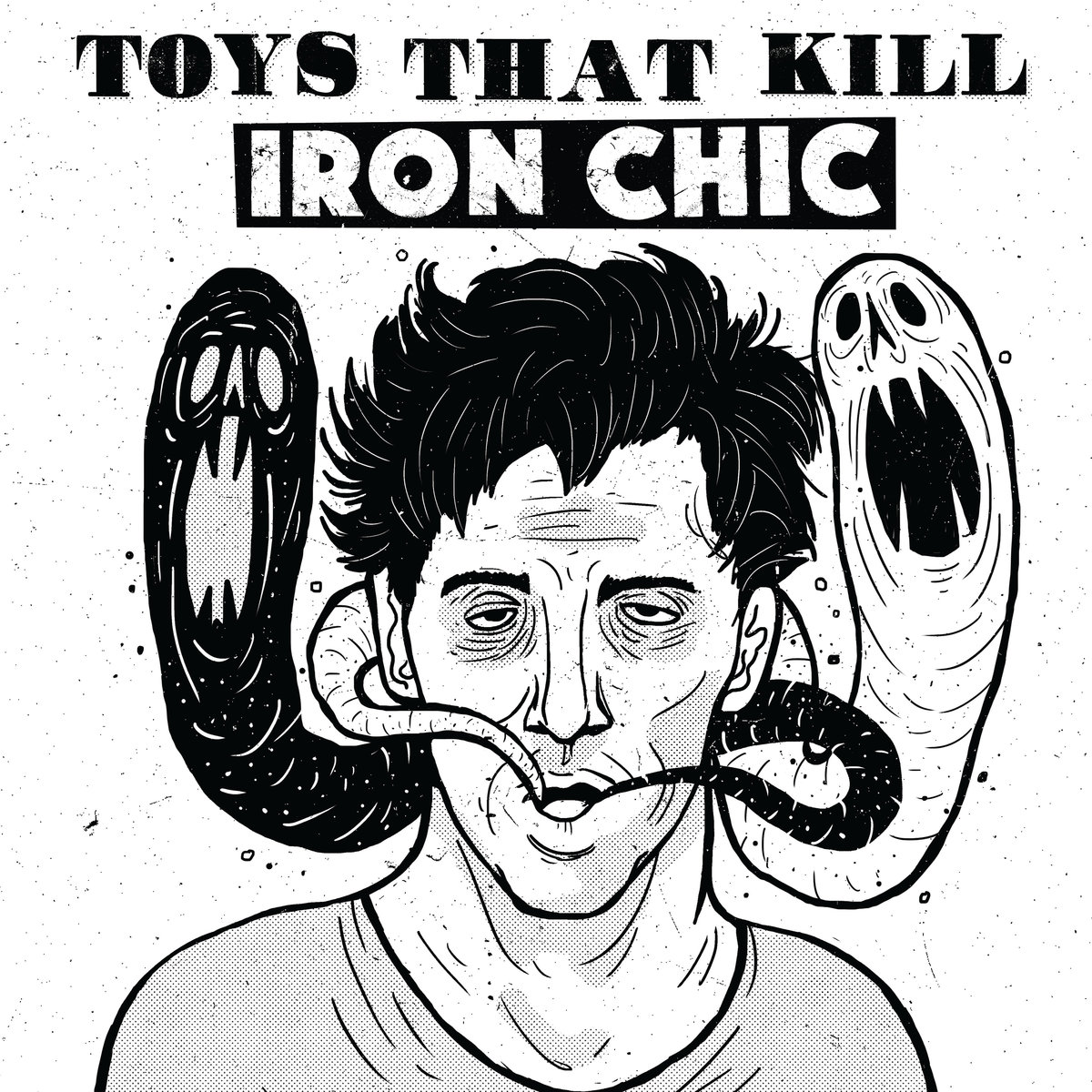 Iron Chic / Toys That Kill - Split LP