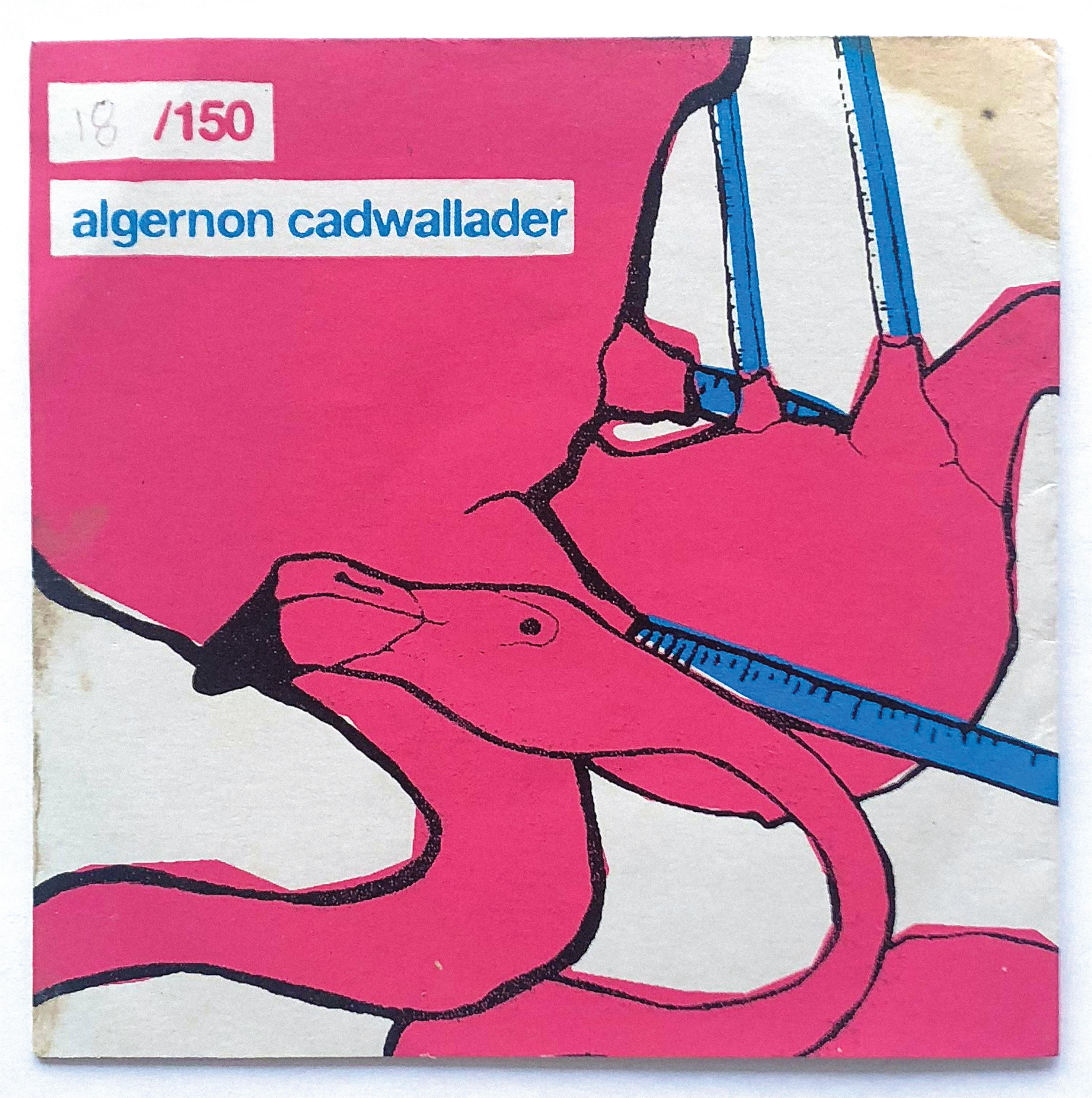 Algernon Cadwallader - s/t LP